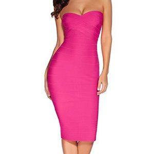 Dresses & Skirts - Fushia Stresspless Dress